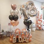 Lovedeco - Cijfer ballonboeket Stephan
