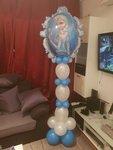 Lovedeco - Helium ballonpilaar Elsa frozen