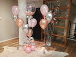 Lovedeco - Luxe Happy birthday bubbelballonboeket roze Lisa