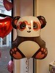 Lovedeco - Grote helium ballon, Panda, valentijn