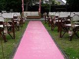 Lovedeco - Roze loper bruiloft restaurant de viersprong s gravensande