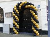 Lovedeco - Small ballonboog metallic goud en zwart