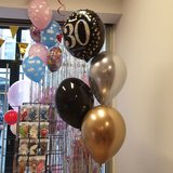 Lovedeco - Helium tros zelf samenstellen Small happy birthday 30 jaar