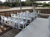 Lovedeco - Witte loper bruiloft beachclub sunrise aqua best Eindhoven