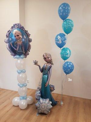 Frozen thema verjaardag set