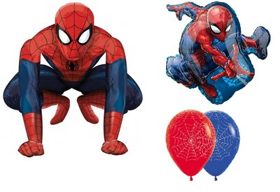 Spiderman thema verjaardag set