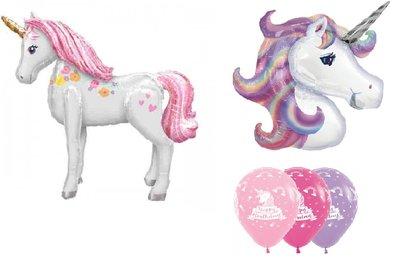 Unicorn thema verjaardag set