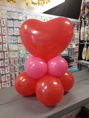 Valentijn ballon gewicht