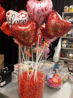 Valentijn mini folieballon