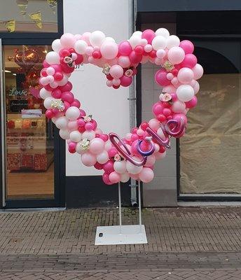 Organic ballonnenhart