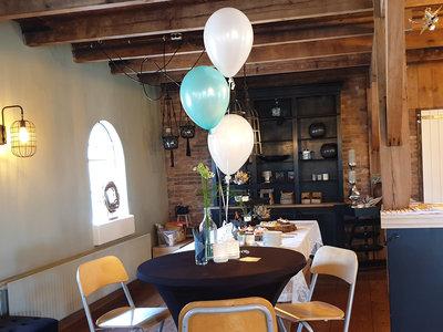 Tros van 3 helium ballonnen