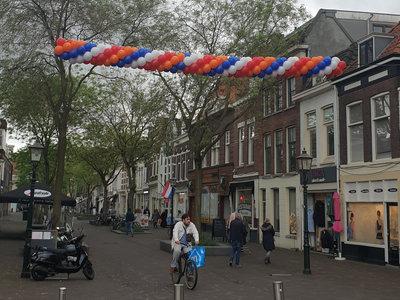 Koningsdag Cluster ballonslinger