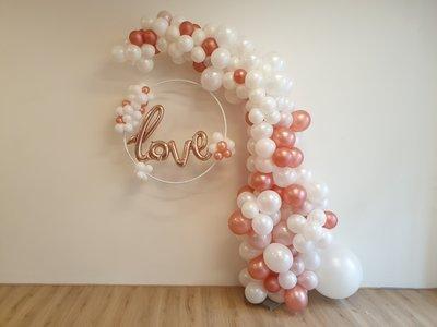 Organic ballonnenboog