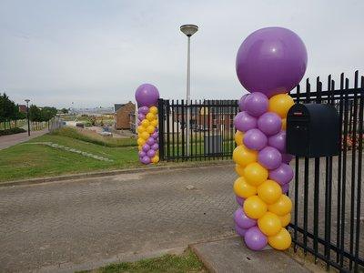 Standaard ballonpilaar
