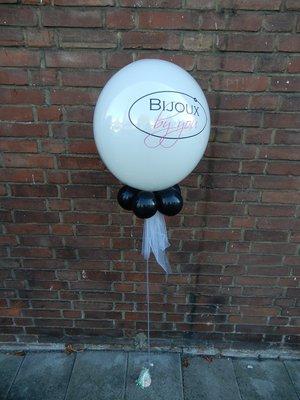 Bubble ballon met eigen tekst