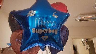 Persoonlijk bedrukte 45cm sterballon