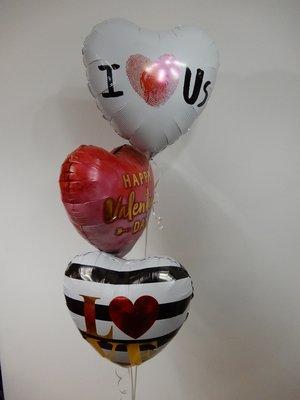 Valentijn helium tros