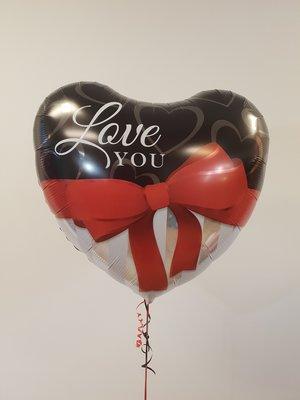 Valentijn kleine heliumballon naar keuze