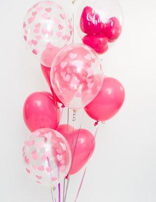 Luxe valentijn heliumtros