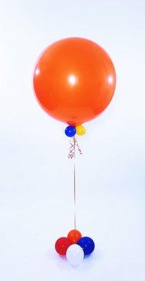 Koningsdag Mega helium ballonnen