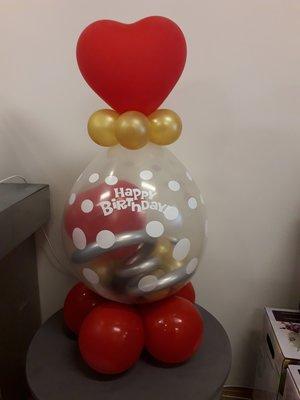 Verjaardag cadeau ballon
