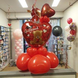 Lovedeco - Valentijn ballonboeket Small