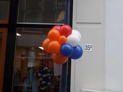 Lovedeco - koningsdag ballon bloemen