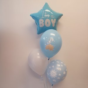 Lovedeco - Helium tros zelf samenstellen Small It's a boy