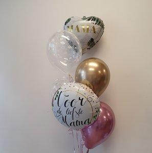 Lovedeco - Heliumtros moederdag Medium