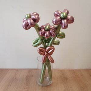 Lovedeco - Ballonbloemen boeket Small