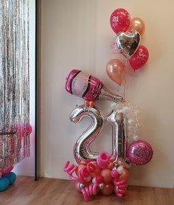 Lovedeco - Cijferballonboeket - Sanne