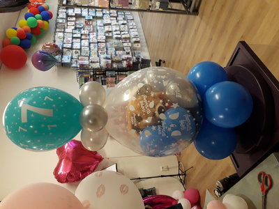Lovedeco - Happy birthday cadeau ballon