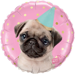 Lovedeco - Verjaardag ballon feest hond