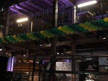 Lovedeco - Cluster ballonslinger groen en geel